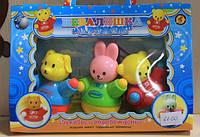 Набор игрушка Неваляшка Дружок для детей от 6 мес.