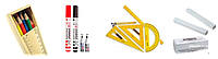 Маркеры для досок, круглый наконечник, 4 шт., блистер