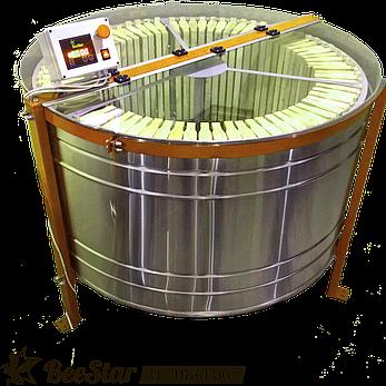 Медогонка радиальная на 75 рамок Мр-75н, нержавеющая сталь, фото 2