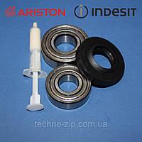 Комплект подшипников и сальник (6203+6204+25*47*8/11,5) для стиральной машины Indesit/Ariston