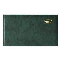 Еженедельник 2019 карманный Brunnen Miradur з/т зеленый, 73-755 60 50