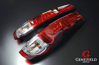 Фонари Nissan X-trail T31 тюнинг Led оптика (красные)