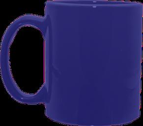 Кружка цилиндр синяя 325 мл, фото 2