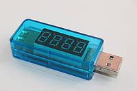 Тестер вольтметр-амперметр прямой USB Charger Doctor