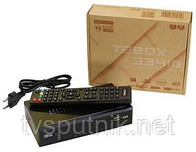 Эфирный тюнер T2BOX-334iD (Youtube, IPTV, звук AC-3)