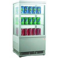 Витрина настольная холодильная EWT INOX RT58L