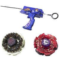 ➤Игровой набор Beyblade Top Set Rapidity 3010 Blue с пусковым устройством в виде пистолета