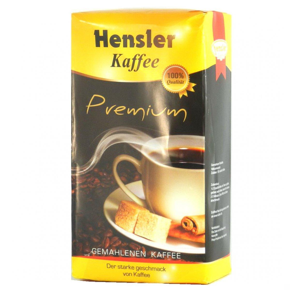 Кофе молотый Hensler Premium, 500г