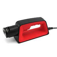 Точилка NUOTEN электрический станок для заточки ножей и ножниц 50Вт 220 В Черно-Красный (SUN1963)