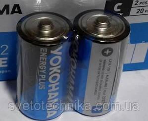 Батарейка щелочная (2шт. в паре) Yakohama C2 LR14P UM2 C 1.5V