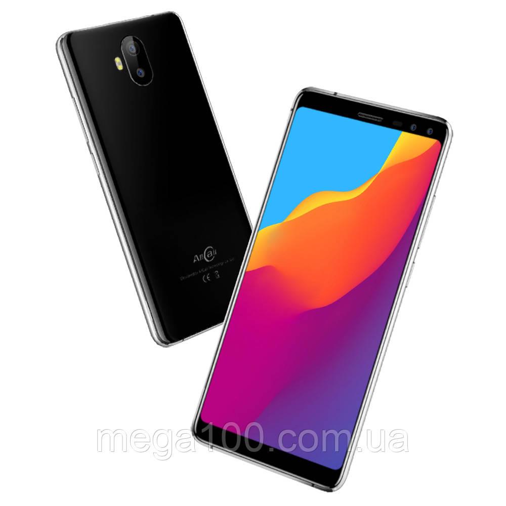 Смартфон AllCall S1 черный (экран 5,5, памяти 2/16Gb, батарея 5000 mAh)