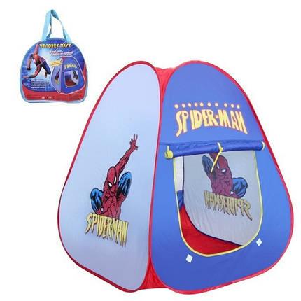 Детская игровая палатка 803 Человек-паук Spider-Man, фото 2