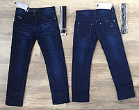 Джинсовые брюки на флисе для мальчиков  оптом,Taurus ,134-164 рр., арт. L-14