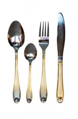 Нож столовый с узором из коллекции Жемчуг