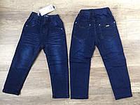 Джинсовые брюки на флисе для мальчиков  оптом,Taurus ,98-128 рр., арт. L-21
