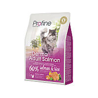 Profine Cat Derma Salmon and Rice 10кг- для длинношерстых  кошек