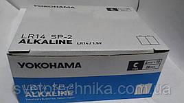 Батарейка щелочная (упаковка 24шт.) Yakohama C2 LR14P UM2 C 1.5V