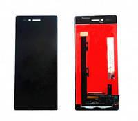 Дисплей для Lenovo Z90-7 Vibe Shot (Z90a40)/Vibe Max с тачскрином черный Оригинал