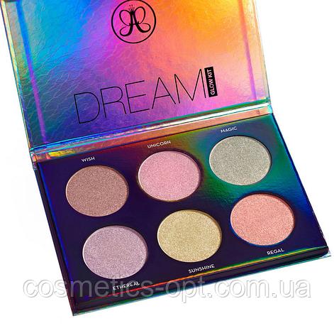 Палетка хайлайтеров Anastasia Beverly Hills Dream Glow Kit (реплика)