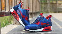 Кроссовки мужские Nike Air Max Sneakerboot blue-red