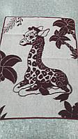 Дитяча ковдра напіввовняна (1400*1000) від 10 од. Жираф - шерсть 70%