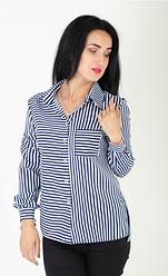 """Классическая женская рубашка """"Лика"""" размеры 44,46,48"""