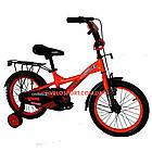 Детский велосипед Crosser Street 16 дюймов оранжевый, фото 3