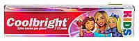 Зубная паста для детей Coolbright Kids Girls для девочек от 3-12 лет - 80 мл.
