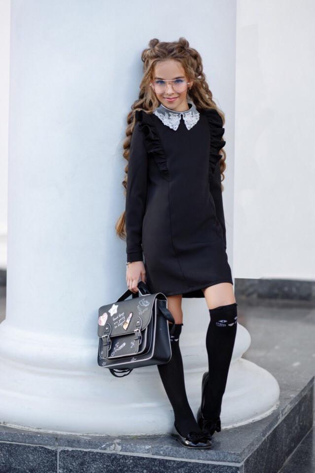 Платье LiLove 368-1 140 черный