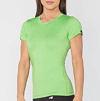 Спортивна жіноча футболка Radical Capri, зелена, фото 1