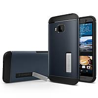 Чехол Spigen для HTC One M9 Slim Armor, Metal Slate (SGP11387)