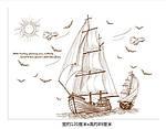 Интерьерная наклейка -  Корабли (120х89см), фото 5