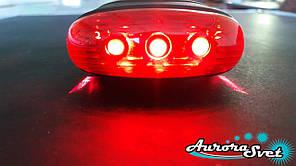 Задній ліхтар для велосипеда і два лазера (червоний).