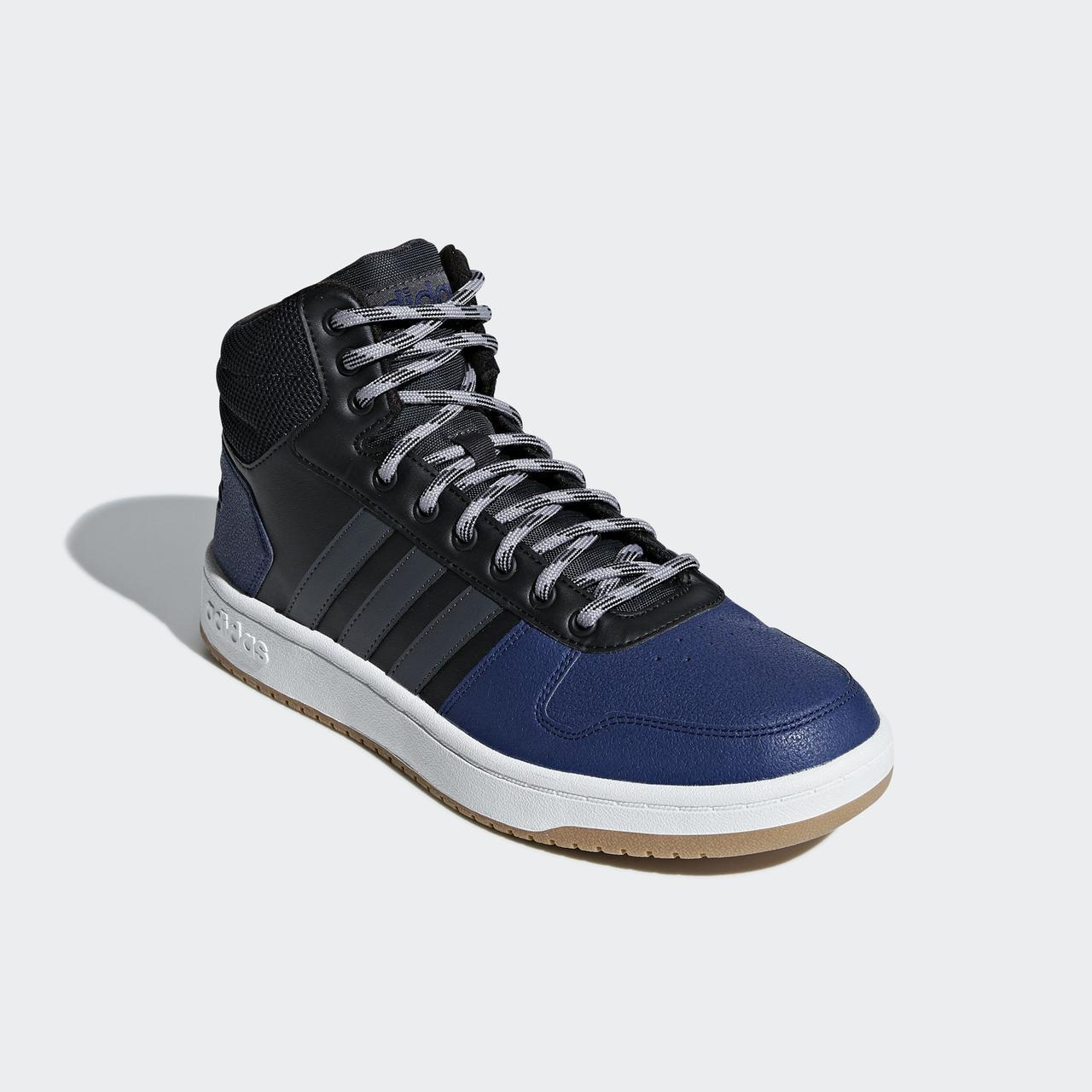 ... Мужские высокие кроссовки Adidas Hoops 2.0 Mid B44613 - 2018 2, фото 4  ... 3a5d0a617ed