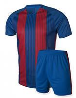 Футбольная форма для команд Europaw 012 сине-красная