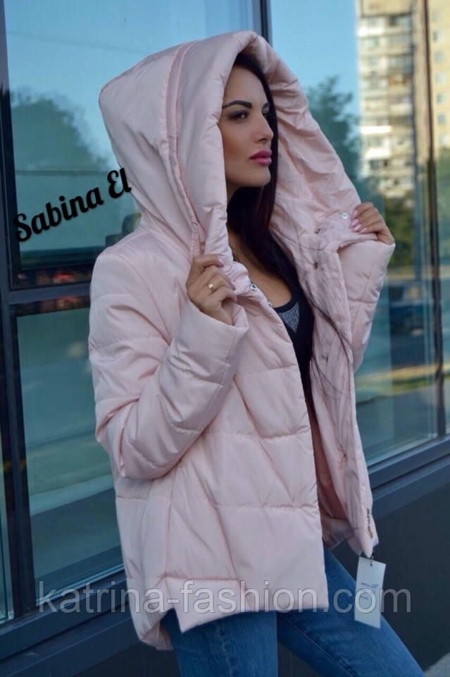 ce7d27755bb Женская демисезонная куртка с капюшоном (3 цвета) - KATRINA FASHION - оптовый  интернет-