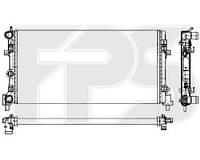 Радиатор охлаждения для volkswagen polo sdn 1.6 M KL+/- (фольксваген поло) 2009-2015. Пр-во Fps.