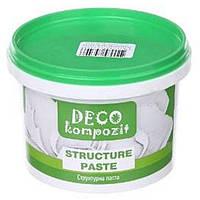 Паста структурная Deco Kompozit 300 мл акриловая Белая 743496