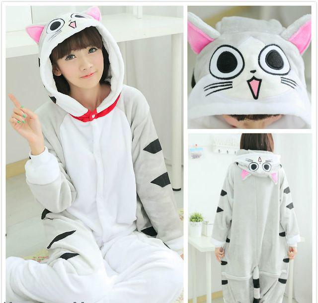 Пижама кигуруми - серый кот - Интернет магазин одежды «Milan» в Луганской  области bccc8bf78e975
