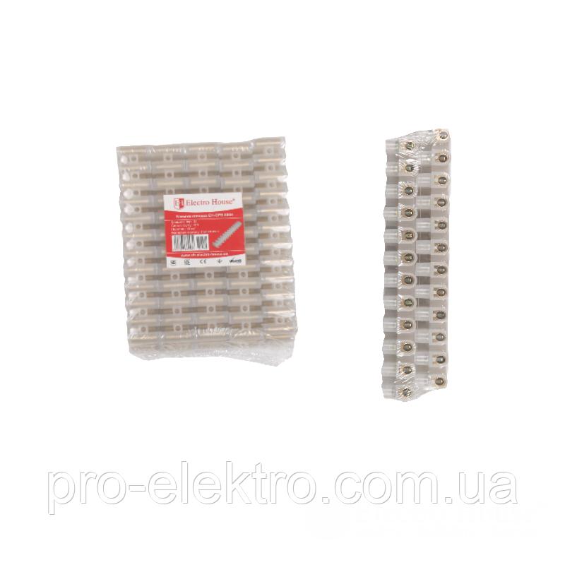 Клеммная колодка (полиэтилен) EH-CPE-0004n 16A-12mm2