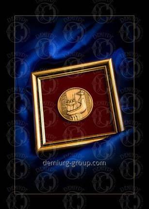 """Медаль """"Основатели Киева"""", фото 2"""