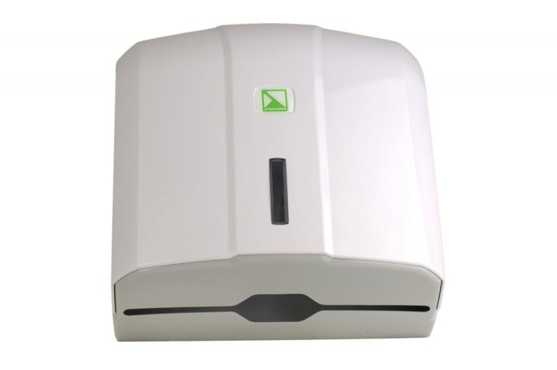 Диспенсер для бумажных полотенец Z-типа (белый)