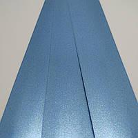 Жалюзі горизонтальні колір 491 Блакитний металік