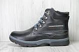 Подростковые ботинки для мальчиков натуральная кожа и цигейка Konors, фото 5
