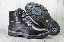 Шкіряні зимові черевики підліткові Konors розміри:36,37,38