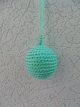 Новогодняя игрушка ручной работы на елку Шар