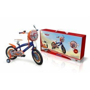 Детский велосипед Disney Planes (PL1601) со вставками на колесах