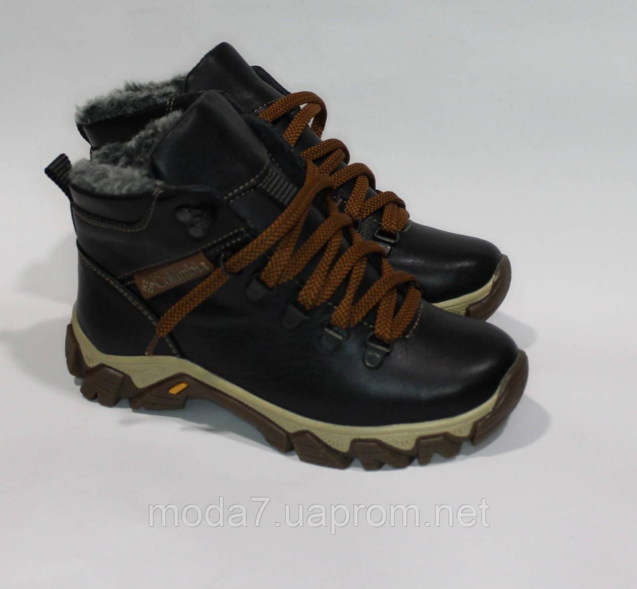 Детские подростковые зимние ботинки Columbia
