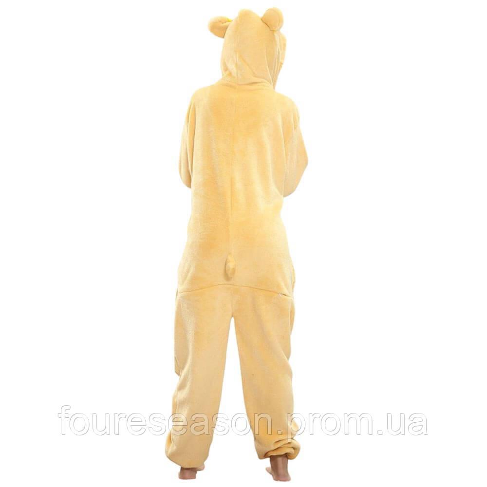 Кигуруми мишка рилаккума пижама теплая махровая комбинезон 350352522cf4a