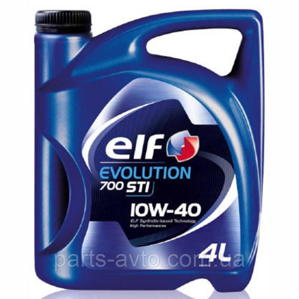 Моторное масло  ELF 10W40 Evolution 700 STI  4 л.